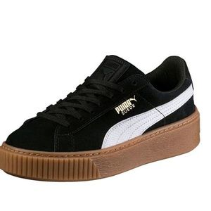 Suede Platform Puma Sneakers